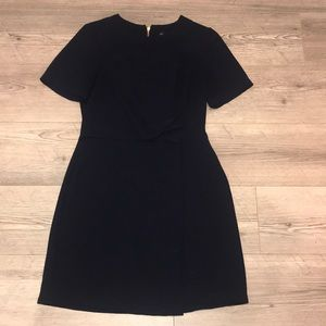 Topshop navy dress